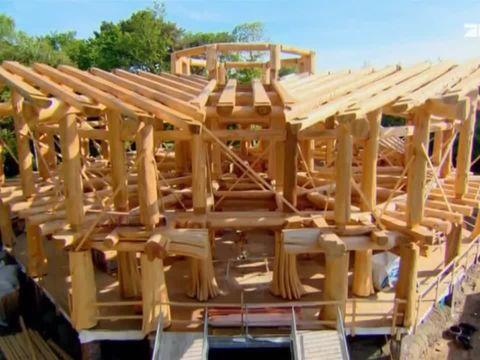 Timber kings blockhaus